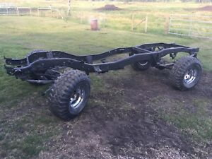 1987 4X4 chevy rolling chassis