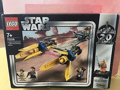 LEGO 75258 Star Wars Anakins Podracer - 20th Anniversary Edition New & Sealed