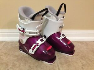 Kids Alpina Ski boots - size Junior US 12.5