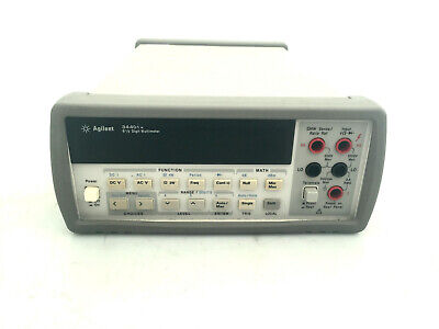 Hp Agilent 34401a 6-12 Digit Multimeter Dmm Tested Accurate