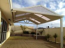 Gable Patios kit With double sided Hi gloss sheets Rockingham Rockingham Area Preview