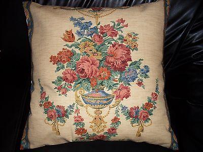 JOHN WILMAN DESIGN  Pillow Cushion Cover 100% cotton 20''x 20''  -