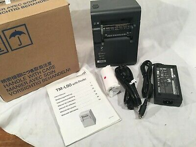 Epson Tm-l90 With Peeler Thermal Receipt Printer Model M165c New In Box