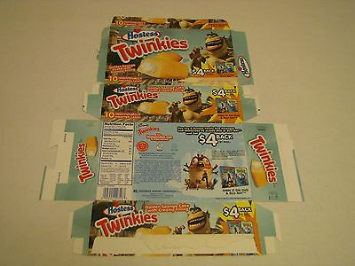 Hostess  Interstate Brands  Twinkies Monsters Vs Aliens Empty Collectible Box
