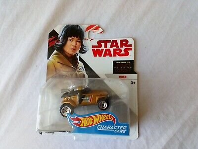 "1:64 Hot Wheels Star Wars character cars "" Rose""  sealed packet"