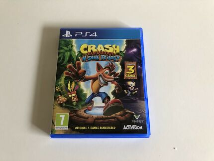 PS4 CRASH BANDICOOT TRILOGY! (NEW CONDITION)