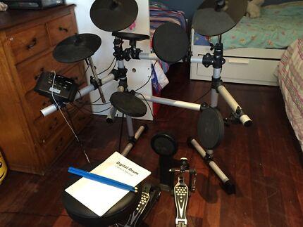 Electronic Drum Kit Mastercraft MCDD403 Hilton Fremantle Area Preview