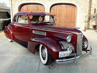1939 Cadillac Other 2 Door 5 Window Coupe 1939 Cadillac LaSALLE 5 Window Coupe - Restored