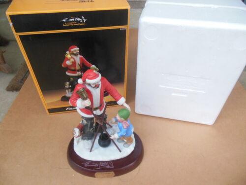 1989 Emmett Kelly Spirit of Christmas VI Porcelain Figurine Limited 159/2400