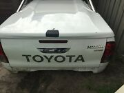 Hilux Tub with roll bar and tub liner. HARD LID SOLD Chelsea Heights Kingston Area Preview