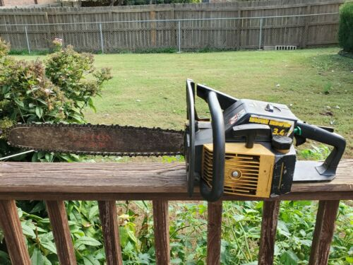 McCulloch Eager Beaver 3.4 Chainsaw Good Running Saw With Bar Chain 610 Parts - $49.99