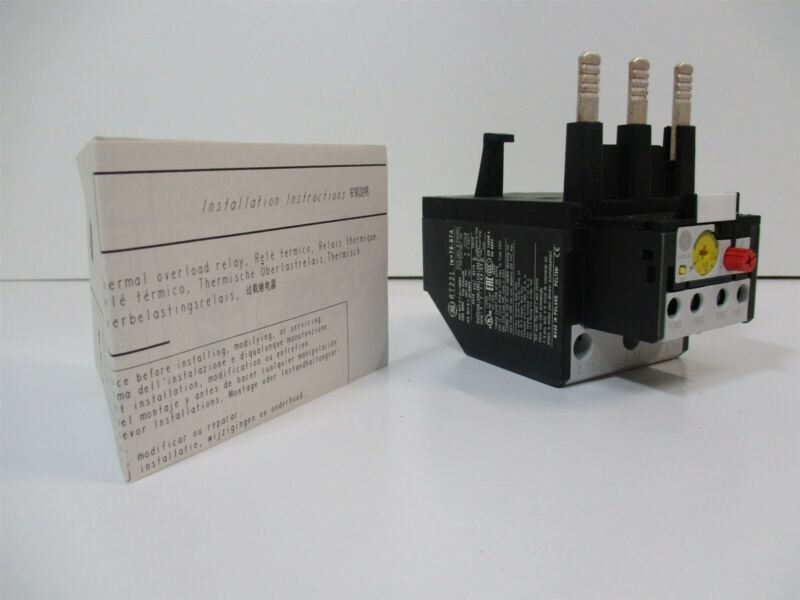 General Electric RT22L IEC Style Overload Relay 3 Pole Auto, Manual Reset