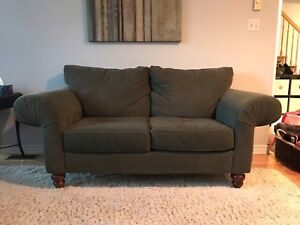 Matching loveseat and sofa - excellent used condition