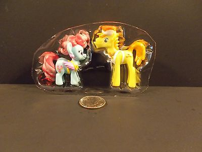 MY LITTLE PONY FRIENDS FOREVER COLLECTION MR. CARROT CAKE & DAZZLE G4 MLP21 - Mr Cake Mlp