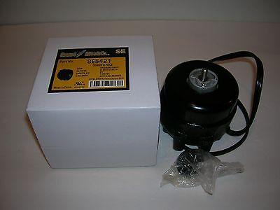 Refrigeration Condenser Unit Bearing Fan Motor-9w-.32a-cw 1550 Rpm-230v-ge Type