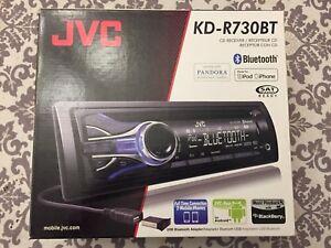 JVC KD-R730BT  Radio d'auto/Car Radio