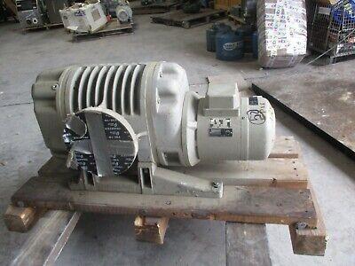 Ruvac Leybold Vacuum Pump Ws1000 Fabr.nr. 8032402 220440v 334119k Rebuilt
