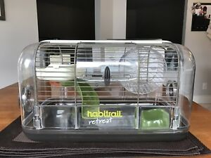 Cage Habitrail Retreat et accessories pour hamsters