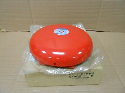 1 Nib Amseco Msb-10b-pv4 Red Fire Alarm Bell Gong 10 24vdc 2 Available