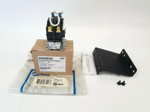 Miller 195370 Deltaweld Siemens Contactor Kit Bracket Hardware 208405 Welding