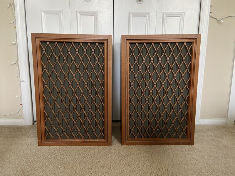 "Vintage PIONEER CS-99A Pair of 6 Driver Stereo Speakers 15"" Woofers Turquoise"