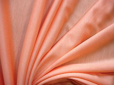1 Lfm seidiger Jersey 2,65€/m² orange Viskose mit Elasthan 160cm breit AF50
