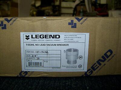 Legend T-553nl No Lead Vacuum Breaker 34 27 Each