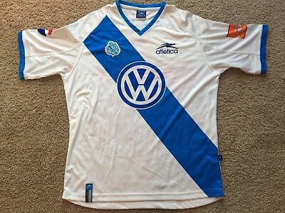 Puebla FC Mexico 2002/2003 Home Soccer Jersey (XXL) VERY RARE image