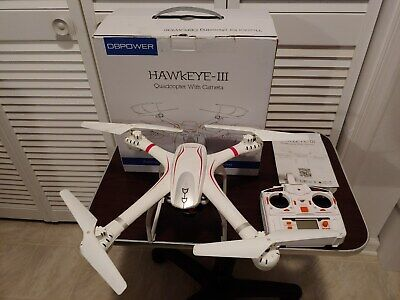"""DBPower """"Hawkeye III"""" X101c RC Drone HD 720p WiFi Camera Quadcopter"""