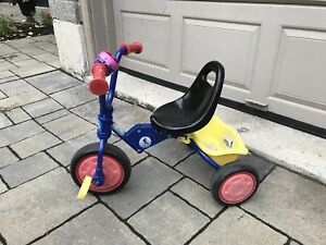 Fold-up tricycle (for 2-3 year old boys/girls)