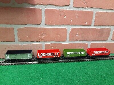 Hornby Railways OO Open Wagon Freight Lot of 4