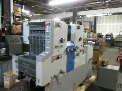 Ryobi 33o2 H 2 Color Printing Press Ir Dryer Royse Clean Machine