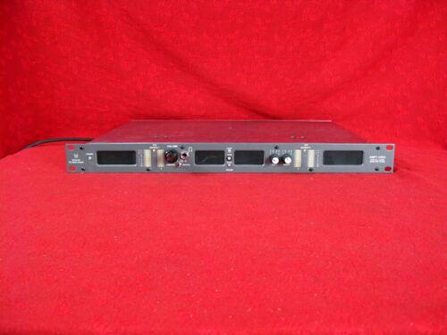 WOHLER AMP1-V2DA DIGITAL AUDIO MONITOR PANEL WITH AES / EBU & CONVERTED ANALOG