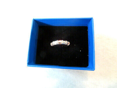Victoria Wieck Absolute Baguettes Band Ring HSN Size 6