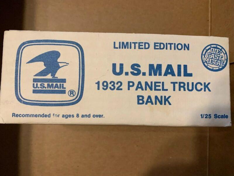 U.S.Mail 1932 Panel Truck Bank Ertl