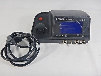 Monster Point Digital Machine Tattoo Power Supply LCD Display~ W/Power Cord-NIB (Monster Tattoo)