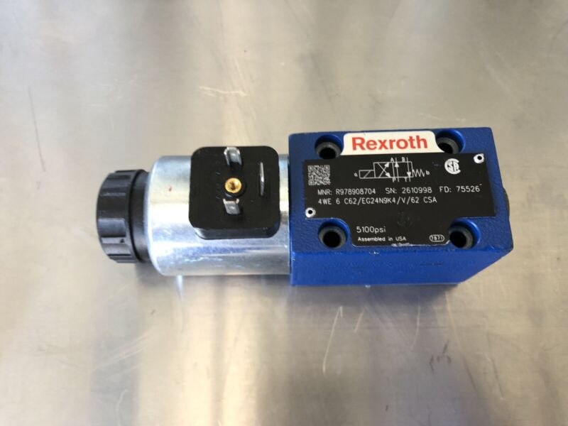 Rexroth R978908704 Hydraulic Directional Control Valve NEW! FREE SHIPPING!!!