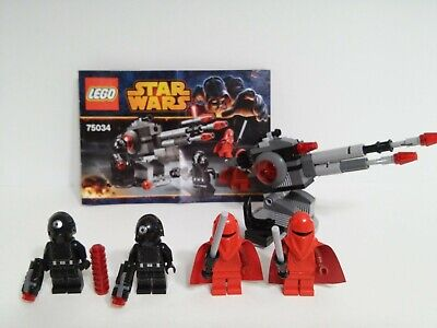 Lego Star Wars Death Star Troopers 75034 100% complete 4 minifigs + instructions