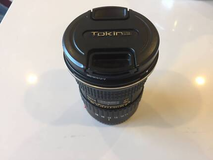 Great condition Tokina 11-16mm f/2.8 wide angle lens!