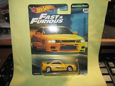 Hot Wheels Fast & Furious Premium Original Fast 5/5 Nissan Skyline GT-R  BCNR33