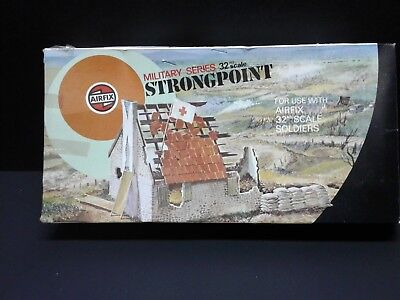 Airfix 1/32nd Scale Strongpoint Bombed Building Plastic Model Kit N.I.O.B.