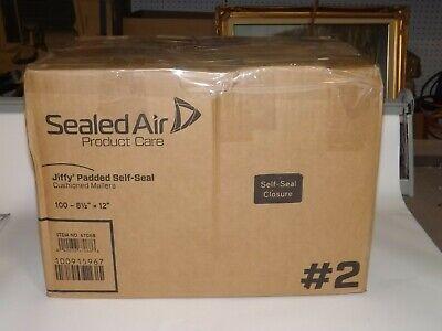 Jiffy 85949 Jiffy Padded Peel Seal Mailer 2 8 12 X 12 Natural Kraft 100