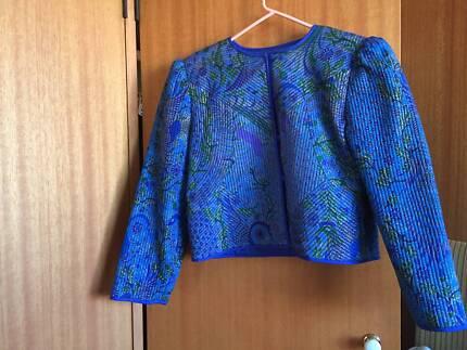Thai silk evening jacket Cremorne North Sydney Area Preview