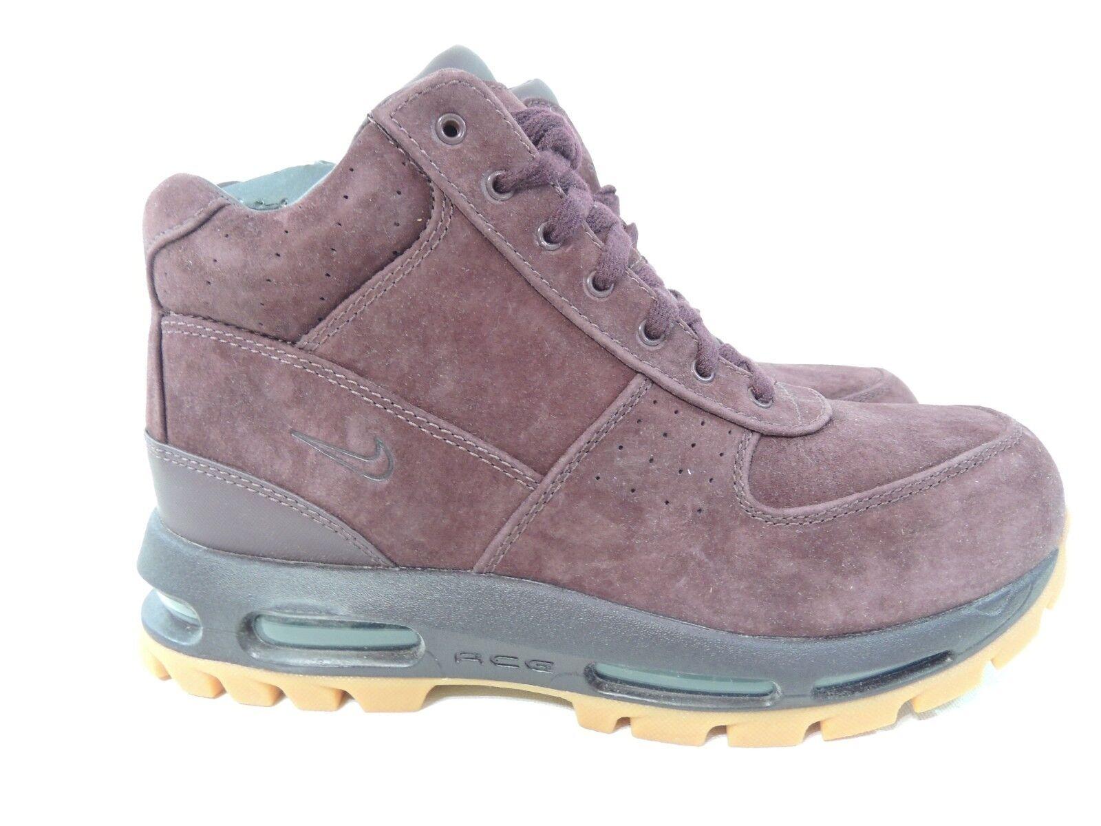 Nike Air Max Goadome 2013 Acg Boots Deep Burgundy Gum Suede