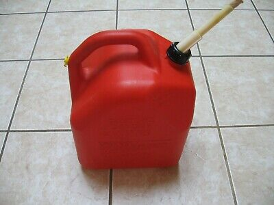 Scepter 5 Gallon Gas Can Vent Cap For Fast Pouring Long Spout Cork Stopper