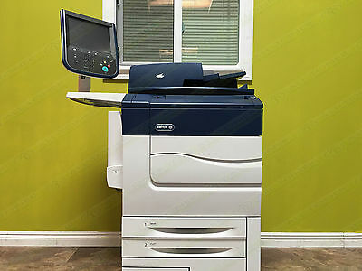Xerox Color C60 Production Laser Printer Copier Scanner Fiery 2400dpi 65ppm 510k
