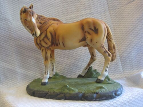 The Abbey Collection by LaVie Horse Figurine Chestnut Equestrian Race