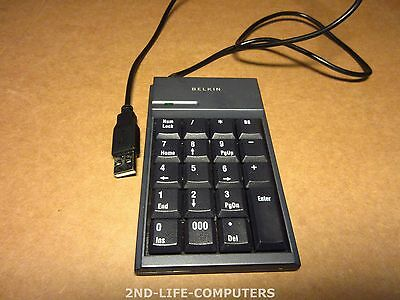 Belkin P10374-A Mobile Numeric Keypad, USB - 19Keys, Slim Design