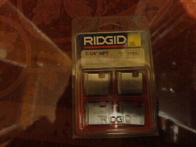 Ridgid 37885 1 14 Npt Pipe Threading Dies