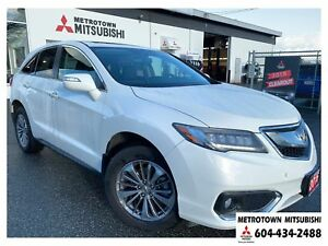 2016 Acura RDX Base w/Elite Package; Local BC vehicle!